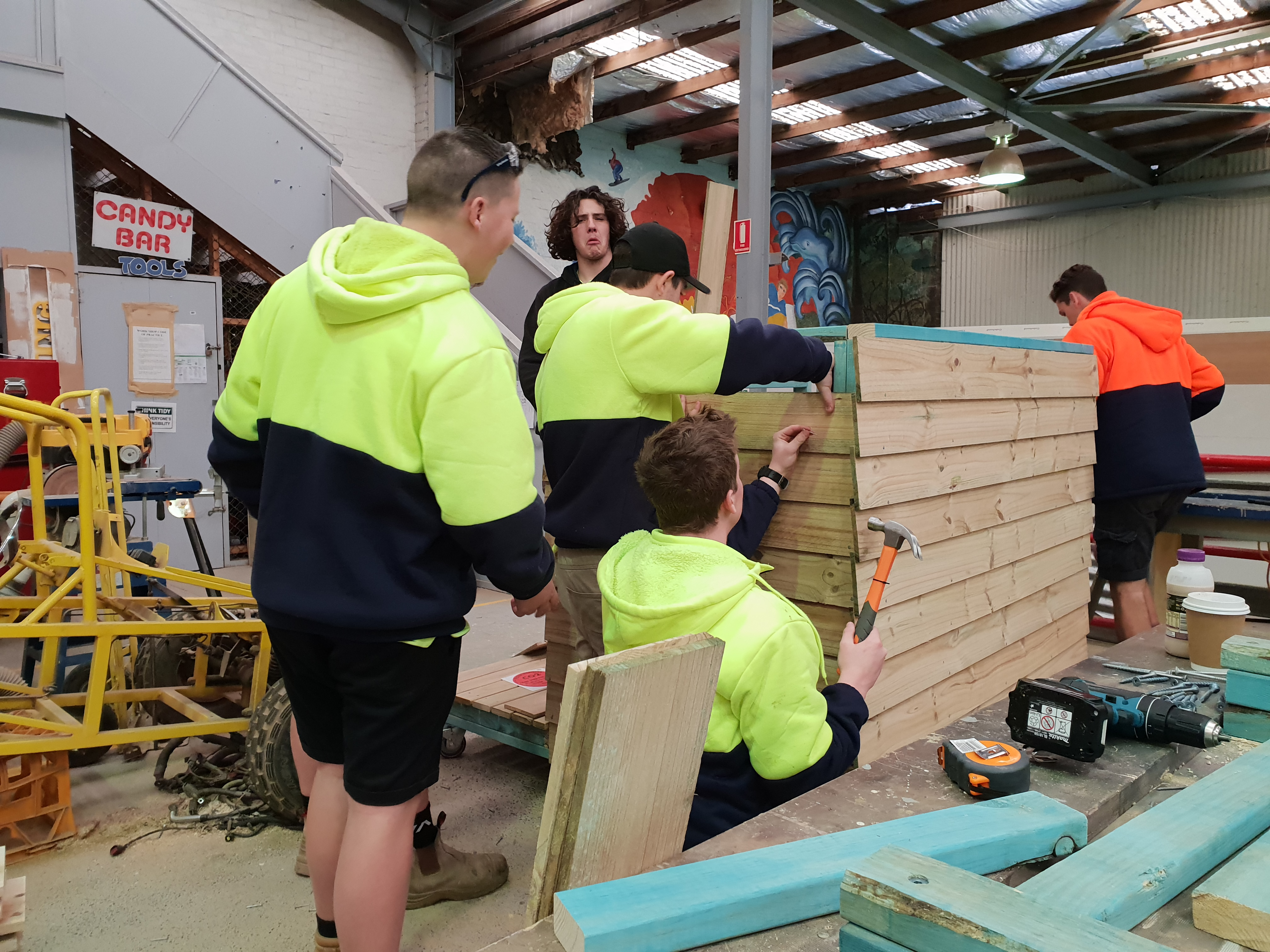 Construction Training Qualifications Central Coast NSW Youth Cultural Training Professional Trade Training Women in Construction Training 36