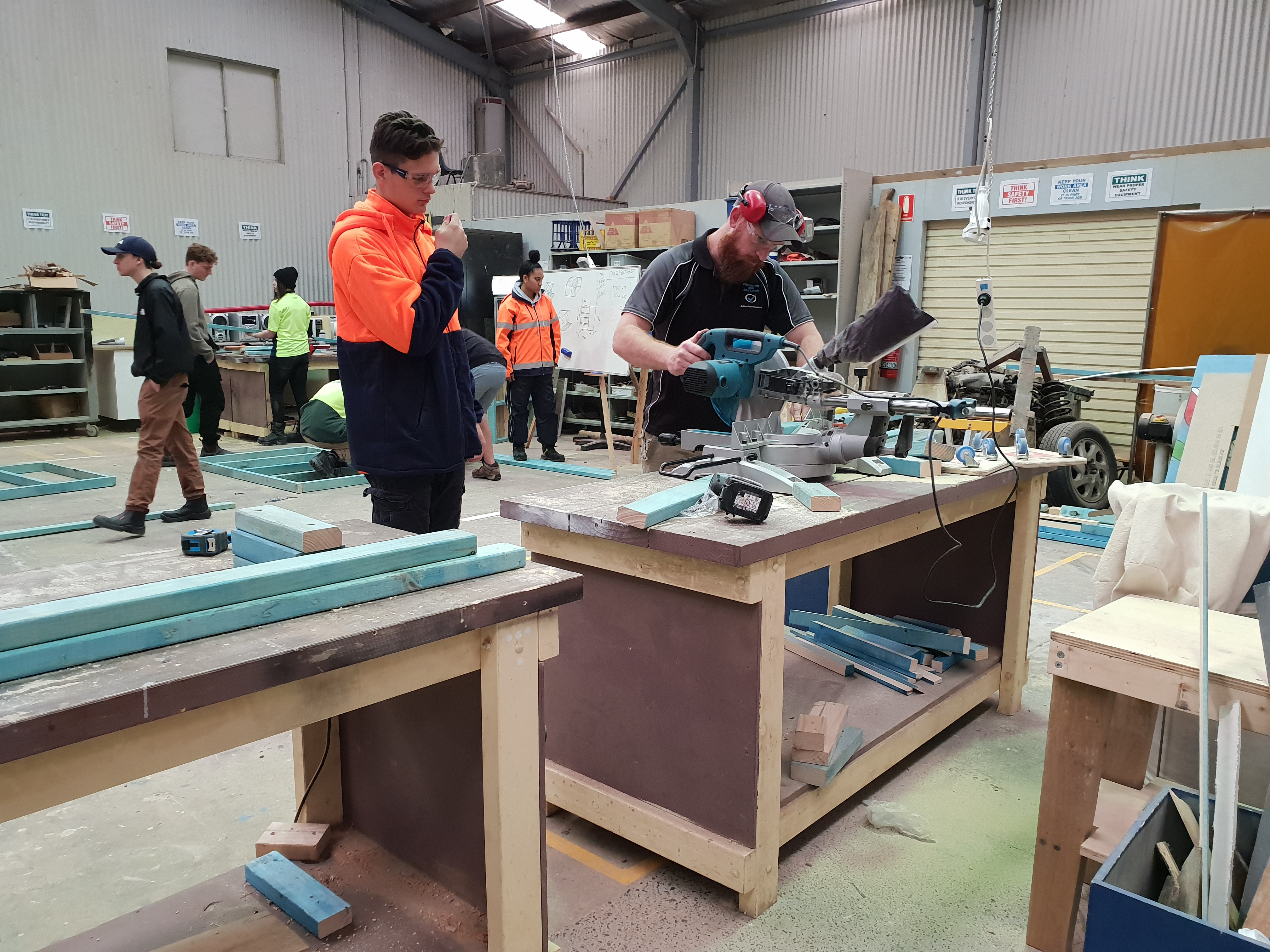Construction Training Qualifications Central Coast NSW Youth Cultural Training Professional Trade Training Women in Construction Training 39